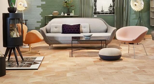 Danish Designed Hardwood Flooring Parquet Plank